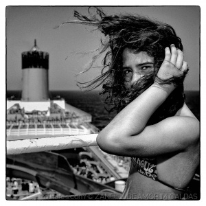Retratos/Cabelos ao vento