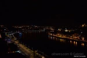 Paisagem Urbana/Porto de noite