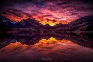 /Schwarzsee Sunset