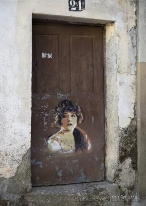 /Arte na velha porta