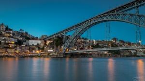 Paisagem Natural/Porto azul