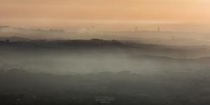 Paisagem Urbana/Nevoeiro - Portugal, Sintra-Cascais