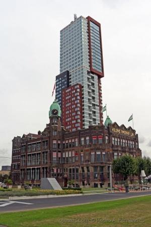 Paisagem Urbana/Roterdão Holanda Setembro 2016