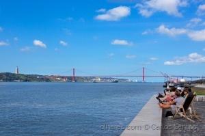 /Semana Lisboa-6ªFeira: Estuário do Rio Tejo