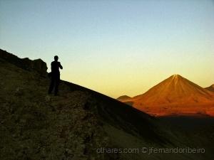 /De frente para o vulcão