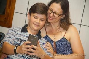 Outros/Momento self (filho e mãe)