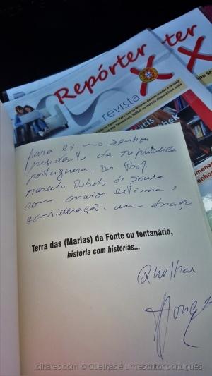 Outros/livro ao presidente Marcelo Rebelo de Sousa