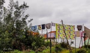 Paisagem Urbana/Aldeia da roupa colorida
