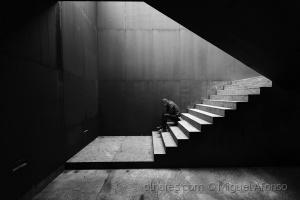 Paisagem Urbana/In the stairs