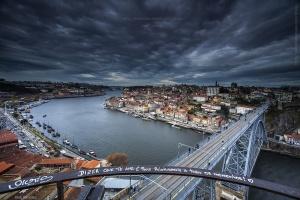 Paisagem Urbana/Porto  - Dizer que te amo é ....