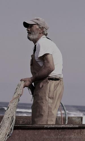 /O pescador da praia de mira