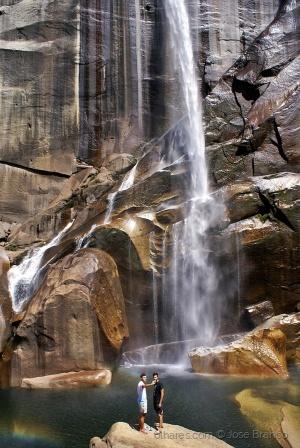 """Gentes e Locais/""""Yosemit - Vernal Fall.."""""""