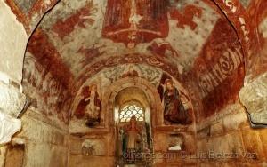 """/""""Raízes Cristãs Galiza"""" Frescos Capela Visigótica"""
