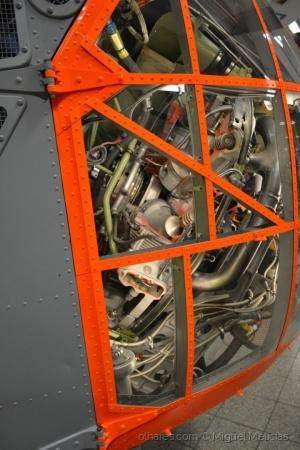 /Motor radial de um Sikorsky S-55