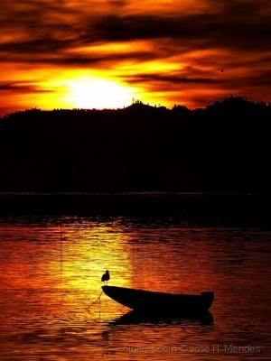 /Sunset na Baia do Seixal 2 (ler)