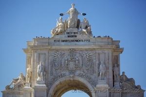 /Estatuária do Arco do Triunfo da Rua Augusta( Ler)
