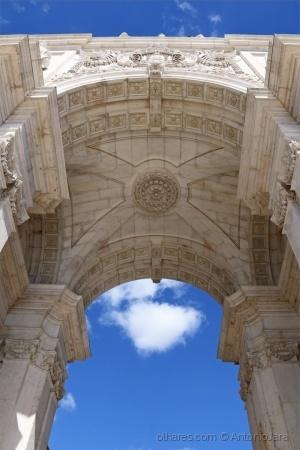 /Um olhar no Arco da rua Augusta