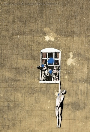 Outros/hung lover [Banksy]