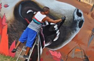 /SMILE: assim nasce um graffiti