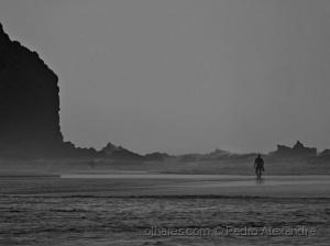 /A ondulação está muito forte para o surf...