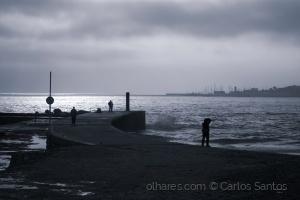 /Marina de Cascais vista da Praia do Tamariz