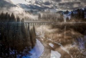 /Num dia de nevoeiro....