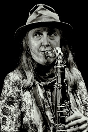 /the sax lady