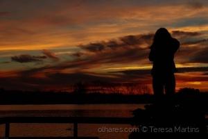 """/""""A Felicidade é o Pôr do Sol por qual esperamos"""".."""