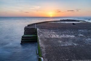 Paisagem Natural/Nascer do Sol na ilha Terceira