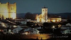Gentes e Locais/Anoitecer na cidadela de Bragança.