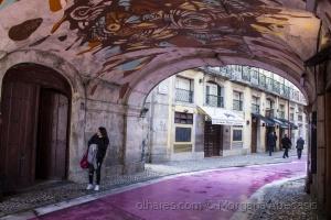 /Rua cor-de-rosa