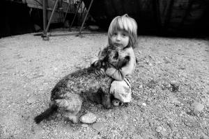 Retratos/O menino e o cão (ler)