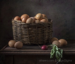 /Basket of eggs