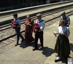 /A bordo do Comboio Histórico Douro-As boas vindas