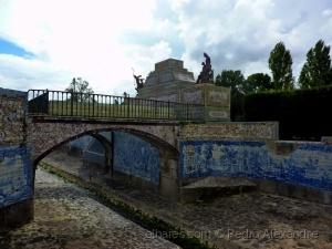 História/Os azulejos da ponte do Palácio de Queluz