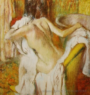 /Depois do banho, Mulher secando-se (1883-1890)