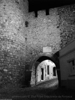 História/Castelo de Estremoz - Porta da Frandina