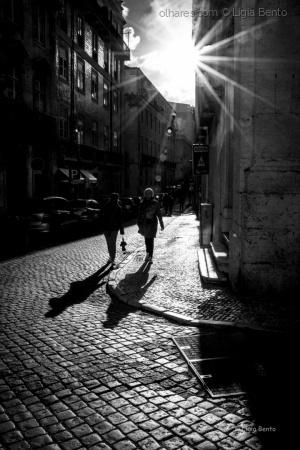 Paisagem Urbana/quando o sol deixa a cidade