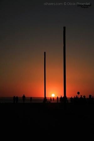 """/""""Quando admiro a maravilha de um pôr-do-sol ou a b"""
