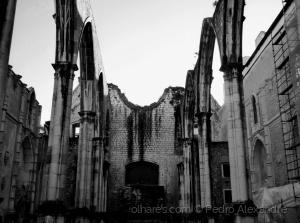 /O que resta do Convento do Carmo