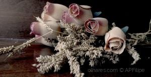 /Flores de madeira