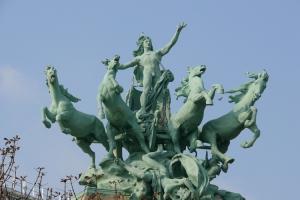 /Cavalos do Grand Palais em Paris