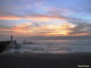 /Pôr do Sol na Foz do Porto