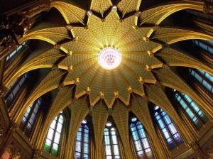 /Tecto da Sala Ogival- Parlamento da Hungria