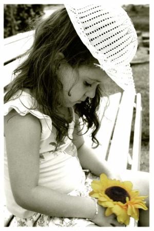/Como eu sou um girassol, você é meu sol ...