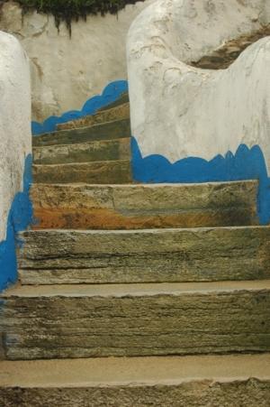 Paisagem Urbana/escadas da praia