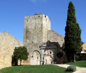 /Jardim no Castelo de Palmela