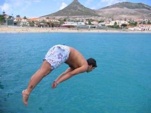 /Mais 1 mergulho em Porto Santo...