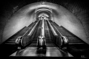 Paisagem Urbana/Escadas que rolam