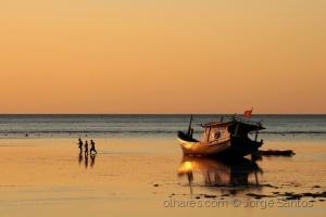 Fotojornalismo/Pesca ao pôr-do-sol